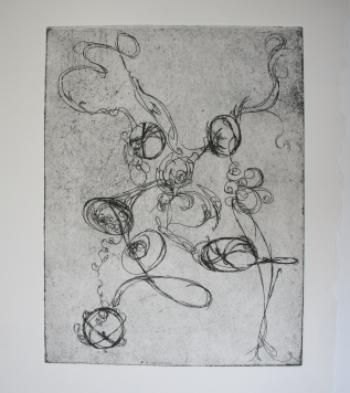 tangled etching