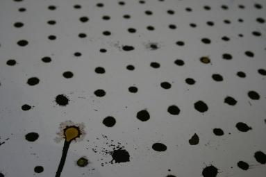 ink water varnish drop splat grid